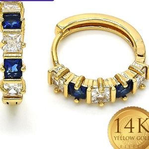 3.5 Ctw SAPPHIRE and White Sapphire Halo Cut